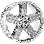 16 inch Chrome Iroc Wheels Rims Chevy 1/2 Ton Tahoe Astro Van GMC