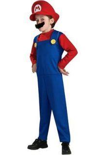 Rubies Nintendo Super Mario Brothers Boys Halloween Child Costume