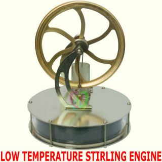 Low Temperature Stirling Engine Educational Toy LTD Free Shipping