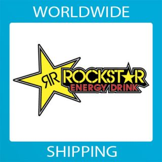 rockstar energy drink sticker decal vinyl car bike sold over