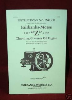 Fairbanks Morse 3hp & 6hp Z oil engine Hit & Miss