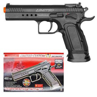 Tanfoglio Limited Custom CO2 Airsoft Hand Gun Pistol 453 FPS