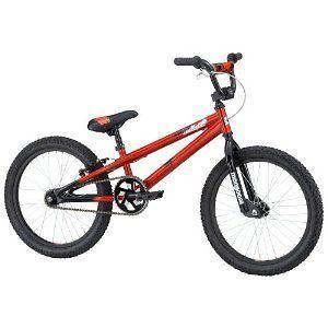 Mongoose Motivator Mini BMX Bike nib frame freestyle trick red copper