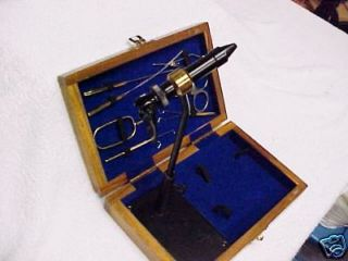 high quality porta vise and tool kit comes with case