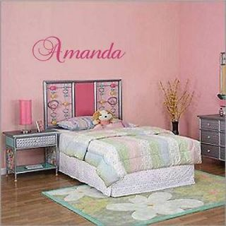 custom name wall decal vinyl sticker decor word letters more