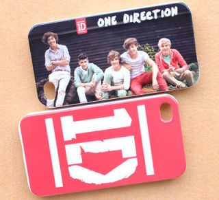 Newly listed 2PCS 1D One Direction Louis Harry Liam iphone 4 4S Case