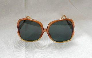 italian martin sunglasses 1960 s large lens vintage