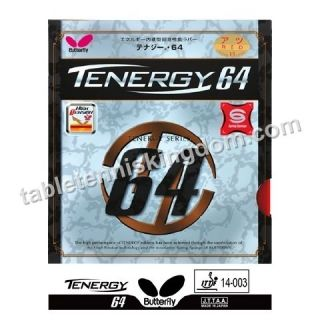 butterfly tenergy 64 table tennis rubber more options colour sponge