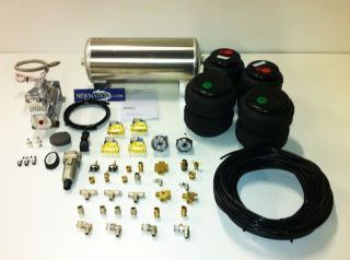 Basic 3/8 Air Management kit for Hot Rod,Mini Trucks,Cars Air Ride