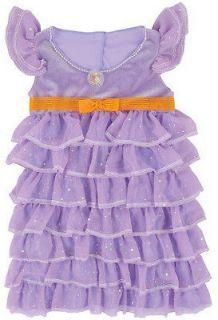 Fancy Nancy Posh Party Dress Costume Child 4 6X 3+ pretend party