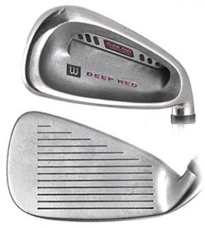 Wilson Deep Red Single Iron Golf Club