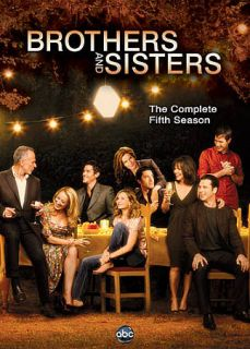 Brothers and Sisters The Complete Fifth Season DVD, 2011, 5 Disc Set