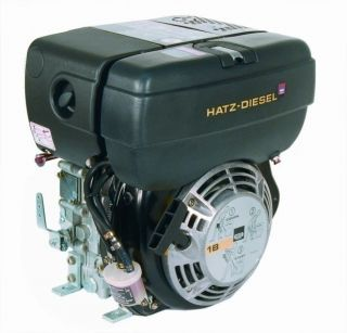 HATZ 1B40 9.2HP DIESEL ENGINE WITH RECOIL START ZZ002198 Free UK & EU