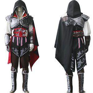 assassin s creed 2 ii ezio black cosplay costume from