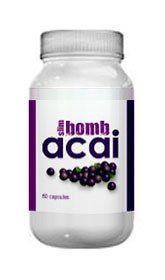Slim Bomb Acai   Powerful Acai Berry Blend 60 Capsules Weight Loss