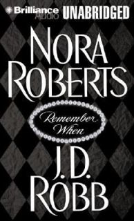 Remember When by Nora Roberts and J. D. Robb 2003, Cassette