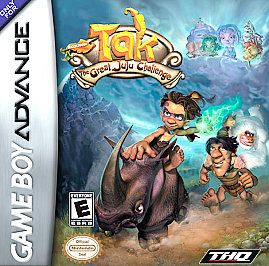 Tak The Great Juju Challenge (Nintendo Game Boy Advance, 2