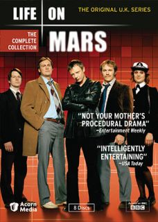 Life on Mars The Complete Collection DVD, 2010, 8 Disc Set