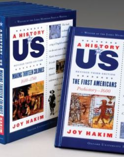A History of Us Set by Joy Hakim 2006, Kit, Revised