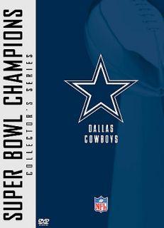 NFL Super Bowl Collection Dallas Cowboys DVD, 2005, 2 Disc Set