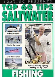 Top 60 Tips   Saltwater Fishing DVD, 2002