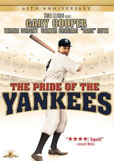 The Pride of the Yankees DVD, 2007, 65th Anniversary Edition