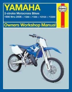 Haynes Yamaha 2 Stroke Motocross Bikes 1986 2006 YZ80, YZ85, YZ125