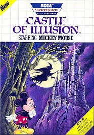Castle of Illusion Starring Mickey Mouse Sega Master