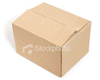 stock photo 2782729 closed cardboard box