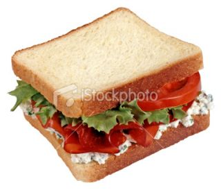 stock photo 11402165 sandwich clipping path