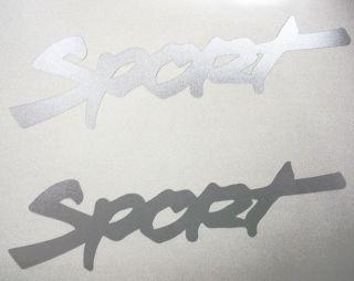 JEEP  SPORT  X 2 DECAL STICKER WRANGLER RUBICON CJ TJ   BRIGHT