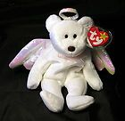 Halo Retired Angel Bear Beanie Baby 1998 Special Love