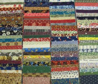 20 4 x 44 strips dessert roll civil war fabric