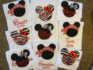 disney family shirts in Clothing, Shoes & Accessories