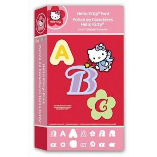 Cricut Hello Kitty Font Cartridge ~NEW & SEALED~ RARE & VHTF