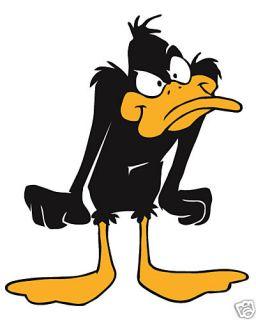 daffy duck looney tunes iron on transfer