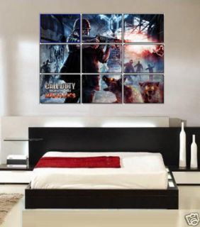 call of duty world at war zombies poster cod5 ps3 xbox  12