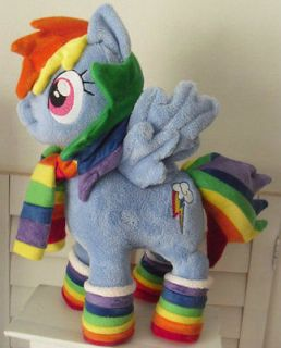 My Little Pony RAINBOW DASH wintertime friendship is magic Handmade