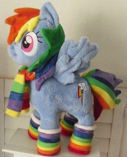 My Little Pony RAINBOW DASH wintertime friendship is magic Handmade