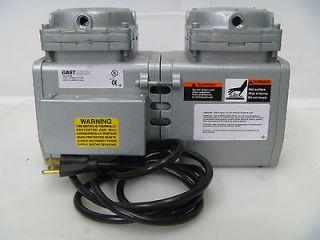 Gast DAA V701 EB Vacuum Pump Double Head VOLTS 115AMPs/110AMPs