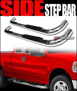 304 S/S SIDE STEP NERF BARS rail running board 02 09 DODGE RAM