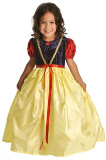 Girl Snow White Princess Dress Up Halloween Costume Sm 1 3 yrs Little