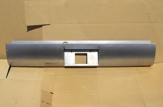 Steel Rollpan Roll Pan Bumper 94 04 Chevy S10 License Box FREE LIGHT