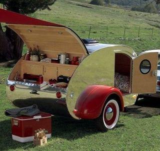 Teardrop Trailer Camper Pop up Plans, Over 100 plans and 1250+ images