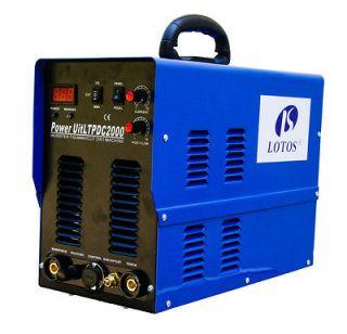 Lotos LTPDC2000 Pilot Arc IGBT 50A plasma cutter w/ 200A tig/stick