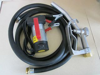 Newly listed 12 Volt Portable Diesel Biodiesel Transfer Pump, Hose and
