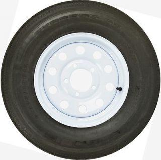 13 WHITE WHEEL 175/80R13 BOAT CAMPER TRAILER SPARE RIM +TIRE (WHEEL
