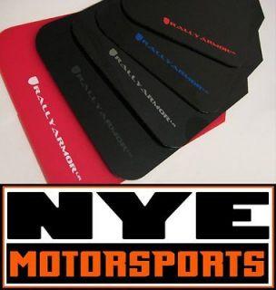 Rally Armor Urethane Mud Flaps 2013+ Subaru BRZ Toyota FR S Black with