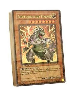 YuGiOh Dinosaurs Rage Loose Deck (NO BOX L@@K it`s Free shipping)