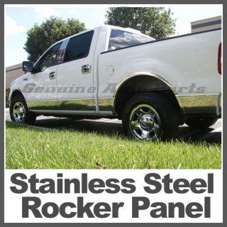 04 08 Ford F 150 Rocker Panel Super Cab 6.5 Box (Fits F 150)